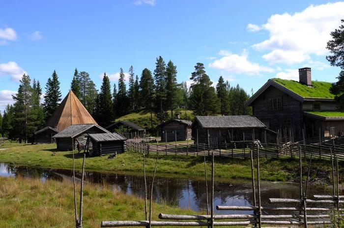 Lindvallens Fäbod, Dalarna i Sälen, Dalarna. Sälenfjällen, Sälen