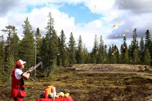 Lindvallens Fäbod, Game Fair, jakt & fiskemässa, sommaröppet, Lindvallen