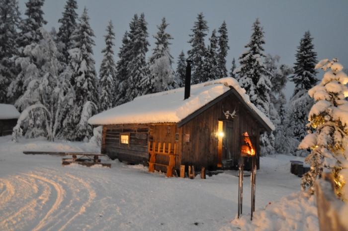 Kalven runt, Lindalens Fäbod, längd, längdskidor, skidspår, Jonas i Sälen