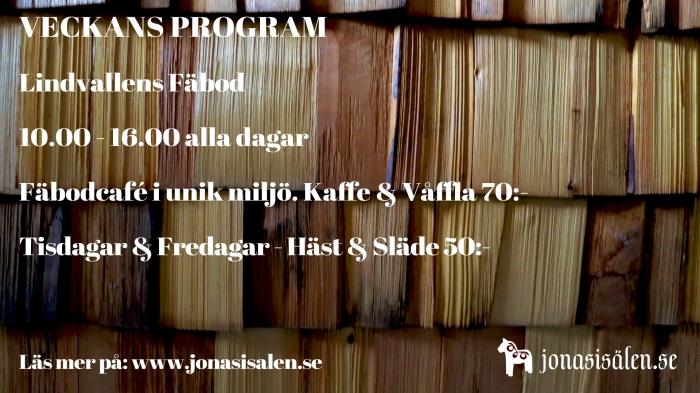 Lindvallens Fäbod, Häst & släde, Jonas i Sälen, Våfflor, fäbodar i Sälen, café