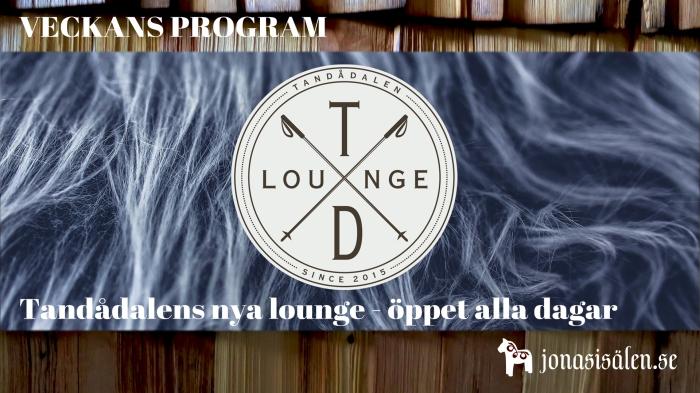 TD Lounge, Jonas i Sälen, Tandådalens Wärdshus, nöje, Sälen