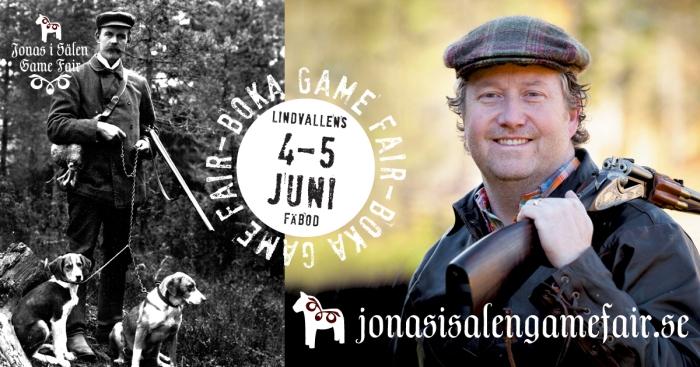Jonas i Sälen Game Fair 2016, gamefair, gamefair 2016, Jonas i Sälen, Jocke Smålänning
