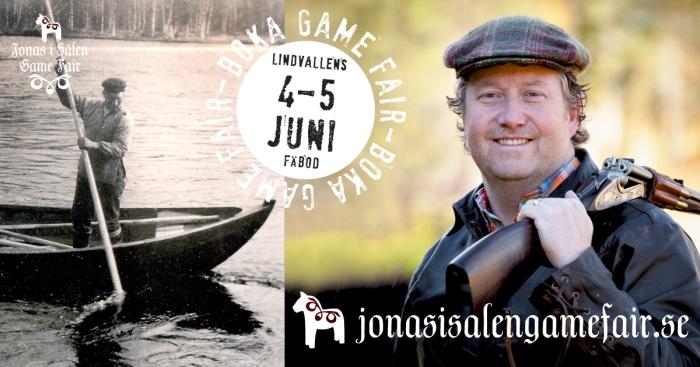 Jakt, Fiske, Jonas i Sälen Game Fair, gamefair 2016, fågelhundkurs, eftersökskurs, Jonas i Sälen, Tandådalens Wärdshus