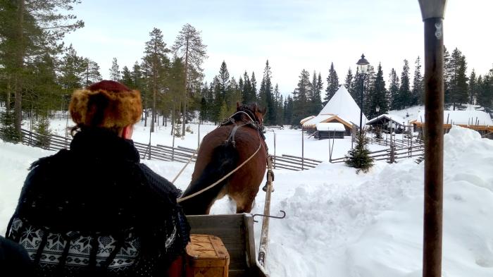 Lindvallens Fäbod, häst och släde, horse sledge, Jonas i Sälen, Lindvallen, Sälen