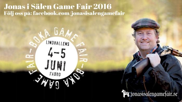 Jonas i Sälen Game Fair, gamefair 2016, Jonas i Sälen, Lindvallens Fäbod, jaktmässa, fiskemässa, Sälenfjällen