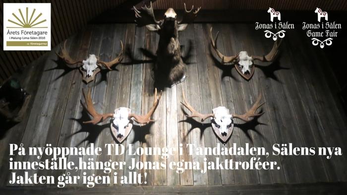TD Lounge, Tandådalen, Sälen, Jonas i Sälen, Jonas i Sälen Game Fair, Sälen, jaktmässa
