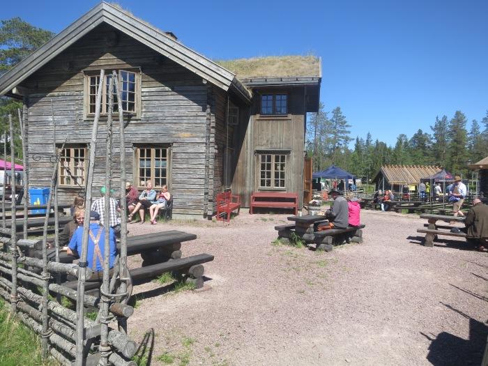 Summer hours, lunch restaurant, cafe, Dala horse, pony rides, angling, fishing, visit Sälen, Dalarna