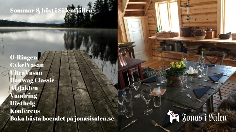 Lindvallens Fäbod, O-ringen, Cykelvasan, jakt, fiske, logi, storstuga, Gattar, Sälen, konferens