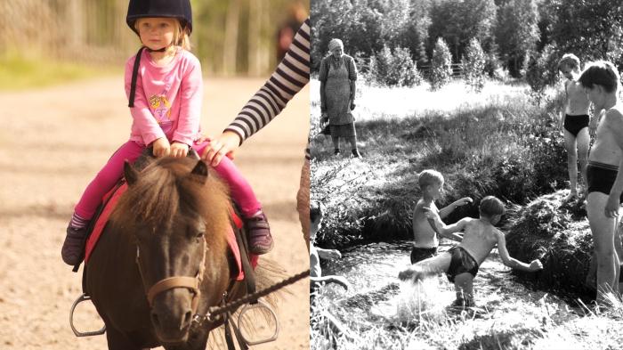 Ponny, ponnyridning, rida, Lindvallens Fäbod, Jonas i Sälen, fiska, put and take, våffla, levande fäbod, klappa djur