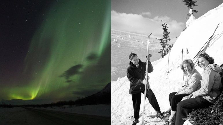 ski trips, Scandinavian Mountains, nothern lights, Jonas i Sälen, Gattar, Dalarna, cross country skiing, snow mobile safari