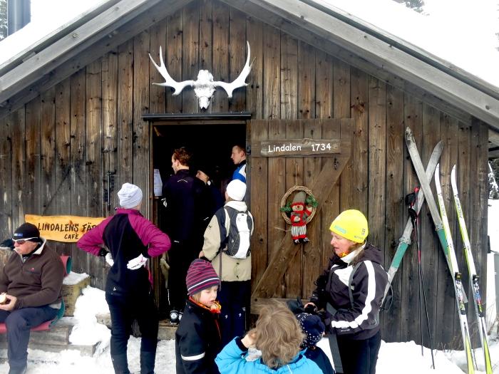 Lindalens Fäbod, Lindalen, Kalven runt, café, våfflor, längd, skoter, cross country skiing