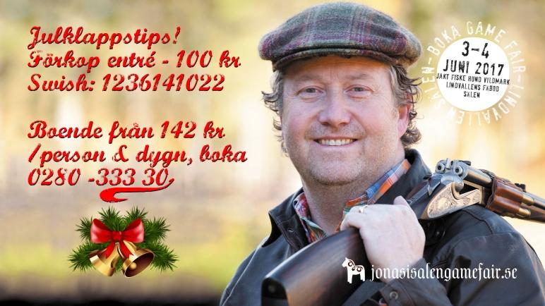 jaktmässa sälen, fiskemässa sälen, gamefair sälen, Jonas i Sälen Game Fair, Jonas i Sälen, jakt sälen, fiske sälen, outdoor sälen, julklapp,