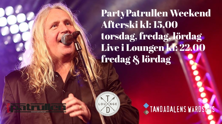 partypatrullen, live i loungen, td lounge, afterski tandådalen, afterski sälen, afterski, afterski partypatrullen, jonas i sälen, nattklubb, nattklubb sälen, nattklubb tandådalen, längdspår, skidspår, Valle