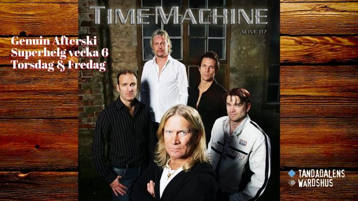 Time Machine, time machine band, afterski, afterski tandådalens wärdshus, afterski sälen, genuin afterski, afterski sälen