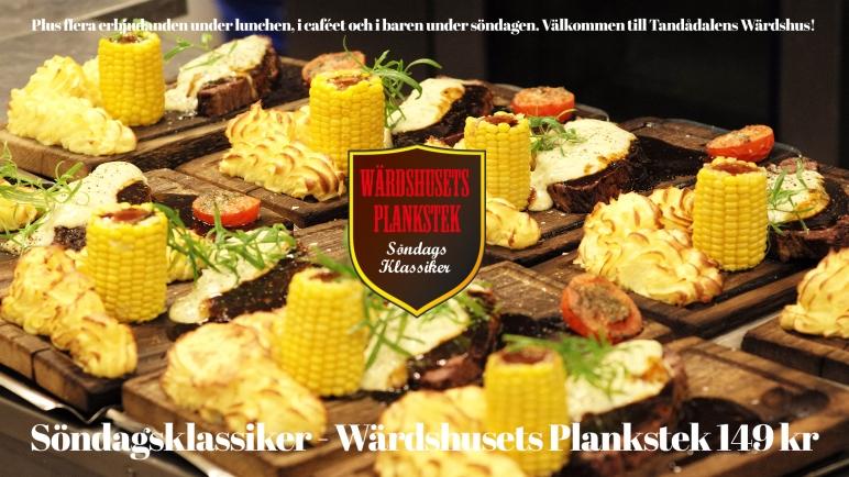 Wärdshusets Plankstek, söndagsklassiker, plankstek, tandådalens wärdshus, tandådalen, mat i backen, restaurang tandådalen, lunch tandådalen, jonas i sälen, restaurang sälen, sälen, afterski