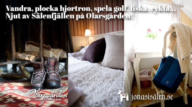 Olarsgården, Olarsgården hotell och restaurang, hotell sälen, hotell Olarsgården, hotell dalarna, restaurang sälen, boka hotell, hotellrum, Jonas i Sälen, boende sälen, cykling sälen, vandring sälen, rum sälen, grillbuffé, grill, buffé, långhelg, weekend, hösthelg, sensommar, UltraVasan, Bagheera Fjällmarat