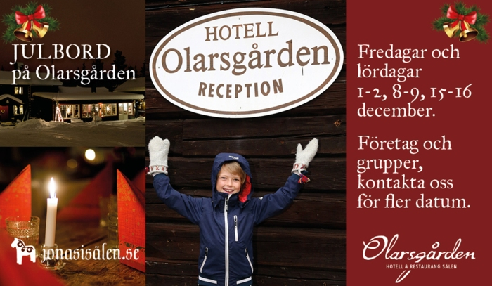 julbord, julbord sälen, julbord dalarna, julbord olarsgården, Olarsgården hotell, Olarsgården restaurang, Jonas i Sälen, restaurang sälen, fira jul, julbord, Sälen