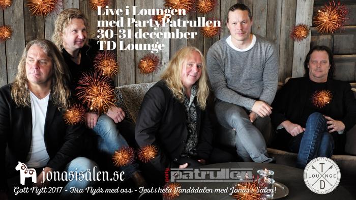 Live i Loungen, td lounge, partypatrullen, nyår tandådalen, nyår sälen, Jonas i Sälen, tandådalen lounge, sälen lounge, live music, Sälen, nöje sälen