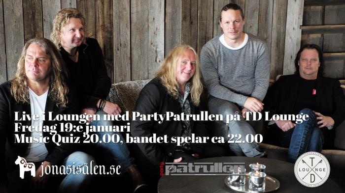 live i loungen, partypatrullen, TD Lounge, tandådalen lounge, Jonas i Sälen, afterski