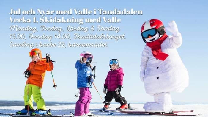 Valle, Valle Tandådalen, valles skidland, träffa valle, valle sälen, valle skistar, Mio Express, Järnet, Järnet våffelstuga, barnaktiviteter, träffa valle i jul, Sälen