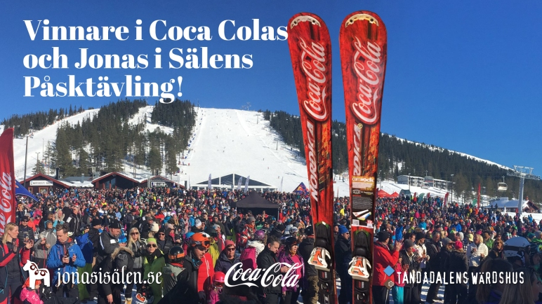 Tandådalens Wärdshus, Coca Cola, tävling, skidor, Nordica, Jonas i Sälen, Påsk, påsktävling, långfredag, Utomhusafterski, Sälen