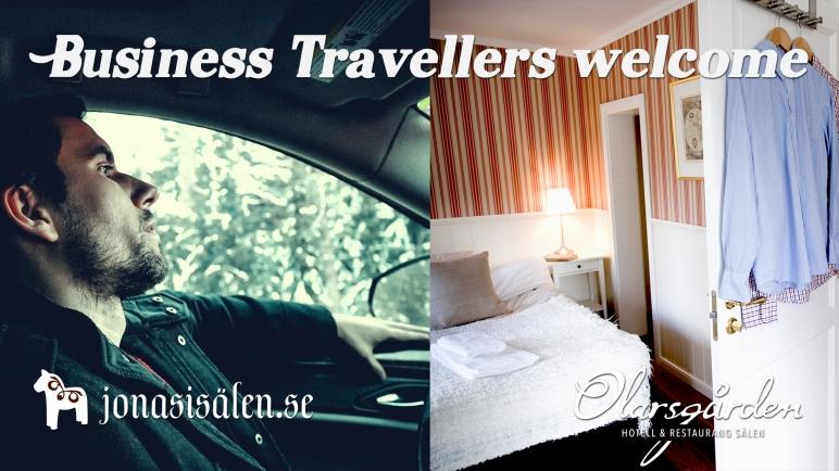 Business travellers, affärsresenärer, affärsresa, affärslunch, Olarsgården, Olarsgården hotell och restaurang, Sälen hotell, Dalarna hotell, Dalafjällen, logi, resande, säljare, konsult, hotell, boka rum, Sälen, boka hotellrum
