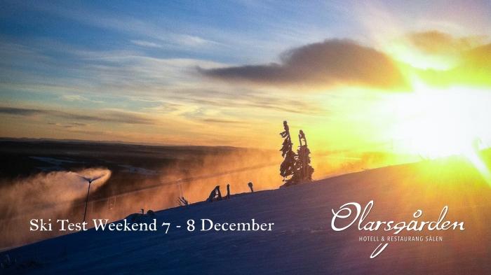 Ski Test Weekend, skidtestarhelg, skidtest lindvallen, Gustavbacken, Lindvallen, Sälen, skidtest sälen, julbord, julbord sälen, Olarsgården, Olarsgården hotell och restaurang, restaurang sälen, hotell sälen, hotellrum, skidor, vinter, säsong, Jonas i Sälen
