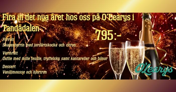 Boka Nyårsmiddag på O Learys Tandådalen här. 8e86ff00d5300